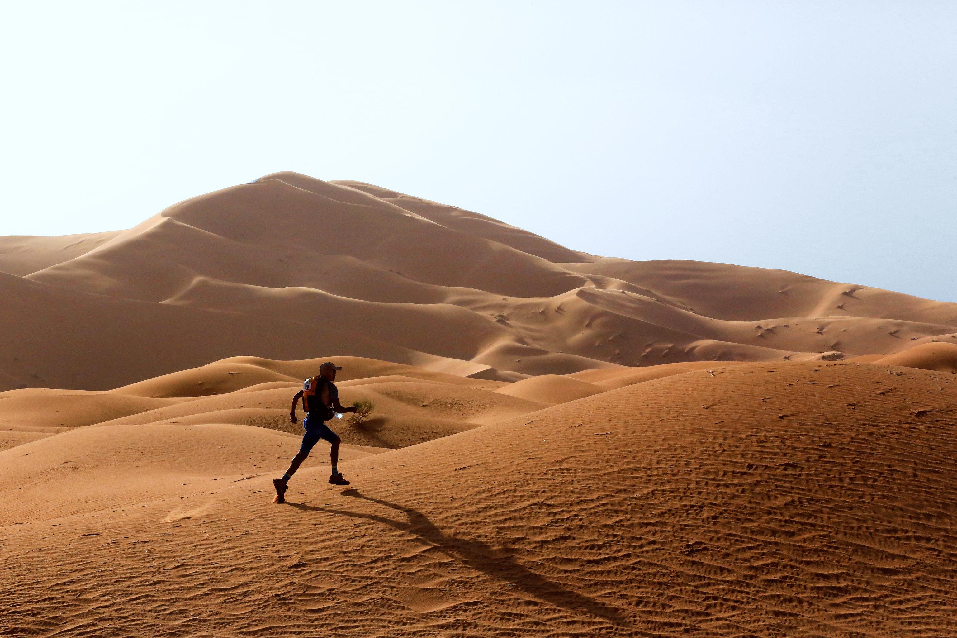 Run The Marathon des Sables